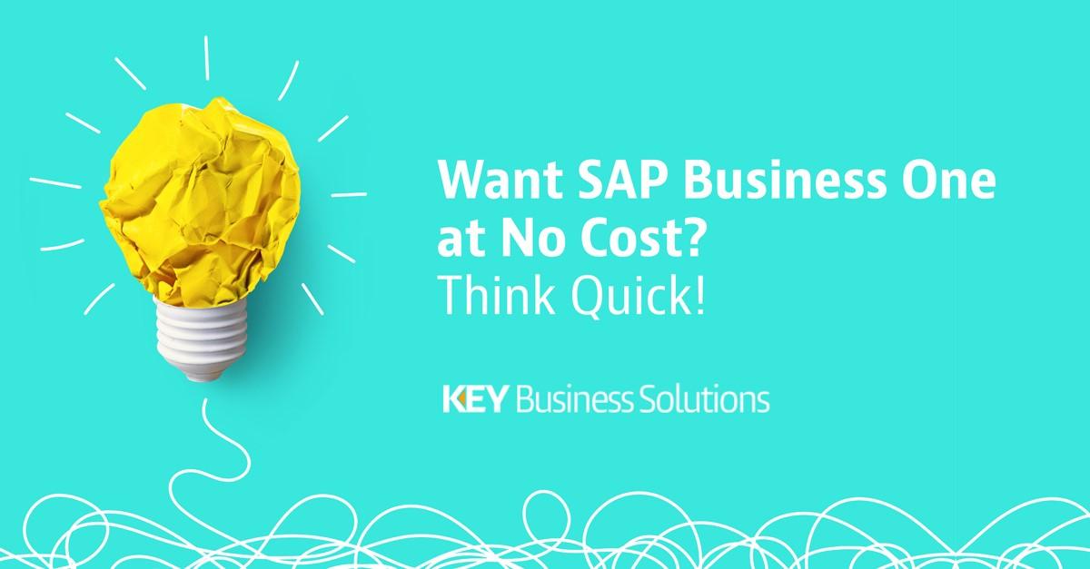 SAP B1 no cost think quick v1-2
