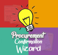 procurement confirmation wizard